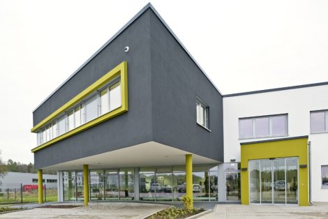 Firmengebäude der Ludwig Bertram GmbH in Isernhagen