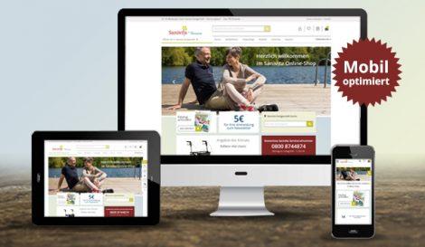 Abbildung Sanivita Online-Shop